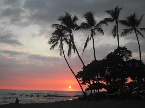 Hookena Sunset